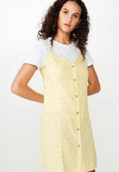 Cotton On Woven Maisy Strappy MINI Dress - Carly Ditsy Sundress