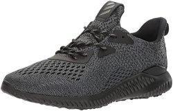 Adidas Men's Alphabounce Ams M Running Shoe Utility Black white 11 M Us