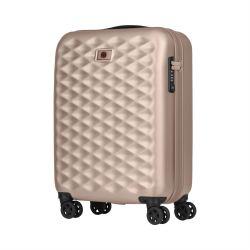 "WENGER Lumen 20"" 55CM Small Carry-on 4 Wheel Suitcase Blush"