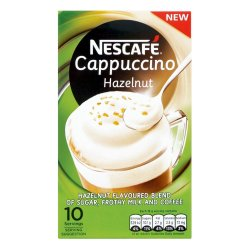 NESTLE - Cappuchino Hazlenut 10'S Sachets