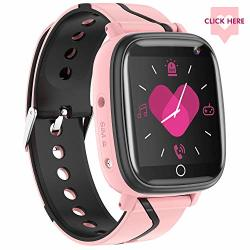 KIDS Smartwatch- Childrens Smart Watch Phone 10 Can Be Set Name Sos Two-way Calling Music Player Games HD Camera Alarm Clock Calculator Set Wallpaper