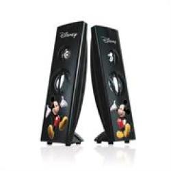 Disney Mickey Mouse Tower Desktop Speaker-usb Interface Retail Packaged Speakers: - USB Digital Speaker. - Multimedia Stereo Spe