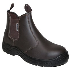 PINNACLE Austra Safety Boots - Chelsea Black SIZE-9