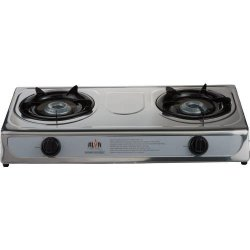 Alva 2 Plate Stainless Steel Gas Stove