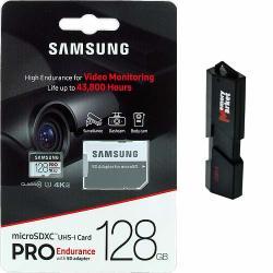 Samsung Pro Endurance 128GB Microsd Hc Memory Card Uhs-i For Samsung Galaxy S8 S9 S10 Plus + S10E USB 3.0 Memorymarket Dual Slot Microsd