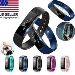 Isports Smart Watch 2018 Activity Tracker - Firtness Tracker For Android & Iphone Dark Blue