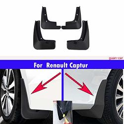 MOERTIFEI Car Mudguard Fender Mud Flaps Splash Guards fit for 2019 2020 Audi Q3 S-Line