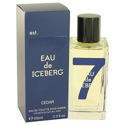 Iceberg Eau De Cedar By Eau De Toilette Spray 3.3 Oz