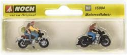 USA Noch 15904 Motorcyclists H0 Scale Figures
