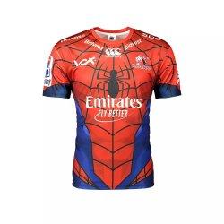 Canterbury Lions Marvel Spiderman Super Rugby Jersey - Kiddies 9 10