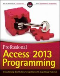 Professional Access 2013 Programming Paperback