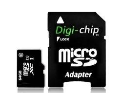 Digi-Chip Digi Chip 64GB Micro-sd Memory Card Class 10 UHS-1 For Huewei  Mate 10 Honor 7X Honor 9 & Huawei Nova 2 Mobile Phones   R1125 00   Other