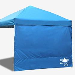 Abccanopy 15+COLORS 10' Sun Wall For 10'X 10' Straight Leg Pop Up Canopy 10' Sidewall Kit 1 Panel With Truss Straps Sunshield Wa