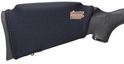 Beartooth Comb Raising Kit 2.0 - Premium Neoprene Gun Stock Cover + 5 Hi-density Foam Inserts - No Loops Model Black