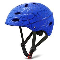 Kuyou Skate Helmet Adjust Size Multi-impact Abs Shell For Kid Youth Cycling skateboarding Skate Inline Skating rollerbladin