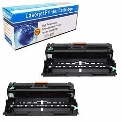 M-online Compatible Drum Unit Replacement For Brother DR820 DR-820 HL-L6200DW HL-L6200DWT HL-L5200DW HL-L5100DN MFC-L5900DW MFC-L5700DW MFC-L5800DW MFC-L6800DW Black 2 Pack