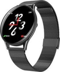 BitByte K1 Metal Multi Sport Smart Watch Black