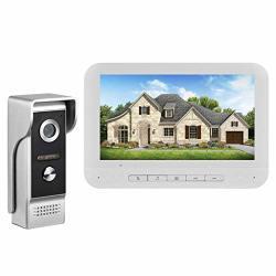 Video Doorbell Camera Umei 7 Inch Wireless Doorbell Camera Weatherproof Smart Phone Intercom Video Door Bell Secure Camera