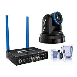 Newtek NDIHX-PTZ1 Ndi Ptz Camera - With Newtek Connect Spark Sdi Cleaning Kit