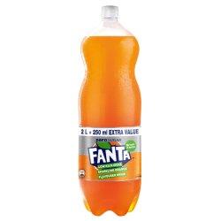 Fanta Orange Zero Soft Drink 2 L