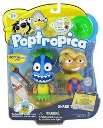 Poptropica 3 Inch MINI Figure Toy 2PACK Shark Tooth Island