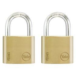 Yale - Ess Brass Pl 40MM Duo