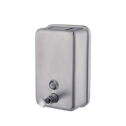 Stainless Steel Hand Sanitizer Gel Soap Dispenser - 1000ML Push Type & Wall-mounted