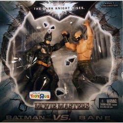 Mattel Toys Batman Dark Knight Rises Movie Masters Exclusive Deluxe Action Figure 2PACK Batman Vs. Bane