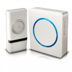 SWANN Wireless Door Chime with Compact Back-lit Design