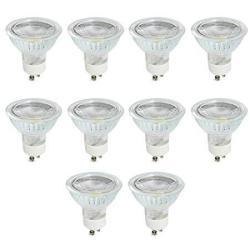 MR16 GU10 LED Bulb Dimmable Cob Light 5 Watt 400 Lumen 120 Degree Beam Angle 40W Halogen Bulbs Equivalent Warm White 3000K LED Light Bulbs For Sp