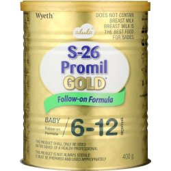 S-26 Promil Gold Baby Follow-on Formula 400G