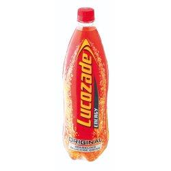 Lucozade Energy Drink Original Plastic Bottle 1 L