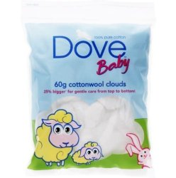 DOVE Baby Cotton Wool Clouds - 60G