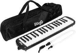 Stagg MELOSTA37 Bk 37-KEY Melodica With Gig Bag Black