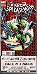 Marvel Comics Amazing Spider-man 700 Final Issue 2ND Ptg Ramos Variant