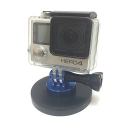 RIDIC Accessories Rubber Coated Magnet Mount For Gopro Hero Cameras