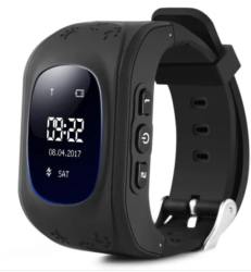 Jot Q50 Kids Gps Tracker Smartwatch - With Gps Tracking Sos Button