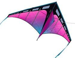 Prism Kite Technology Zenith 7 Aurora Single Line Kite Ready To Fly With Line