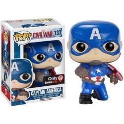 MPreview Funko Pop Captain America Civil War 137 Exclusive Captain America With Shield Vinyl Figure