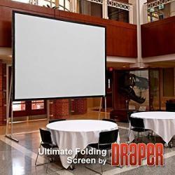 Draper 241252 Ultimate Folding Screen 112 X 196 Matt White XT1000V