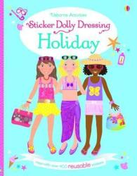 Sticker Dolly Dressing On Holiday Paperback New Edition