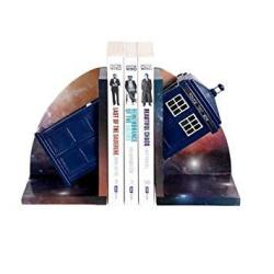 Doctor Who Tardis Bookends By Underground Toys DW01064