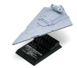 F-toys Confect Disney Star Wars Vehicle Collection 6 7 Imperial Star Destroyer 1 15000 Scale Model Figure 1PC