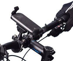 Ultimateaddons Metal U-bolt Bicycle Mount + One Holder For Huawei Mate S