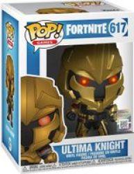 Pop Games: Fortnite - Ultima Knight Vinyl Figure