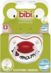Bibi Silicone Soother - I Love Mama 16 Months And Older