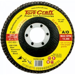 Tork Craft 115mm 40-grit Flap Sanding Disc