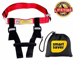 4a042ef5e9e9 Bigtime Ent Child Safety Harness Airplane Travel With Free Carry Pouch Bag  Airplane Travel Harness For Safe Flying With Baby Toddlers - Strictly For  ...