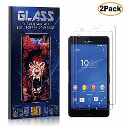 Sony Xperia Z3 Compact Screen Protector Tempered Glass Cusking HD Shock Absorbent Screen Protector Film For Sony Xperia Z3 Compa