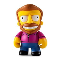Kidrobot The Simpsons 25TH Anniversary MINI Series 3-INCH Figure - Hank Scorpio